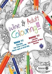 Wine & Adult Colouring Night