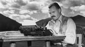 Ernest was a novelist