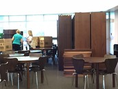 Furniture moving day in the LMC