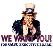 WE WANT YOU TO RUN FOR GASC EXEC BOARD!