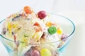 Skittles Ice Cream