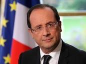Francois hollande- president of france