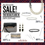 Up to 60% off......