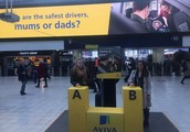 Aviva Asked the Public Who Were Better Drivers in Experiential Campaign (UK)