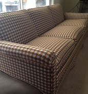 Long 3-Cushion Couch