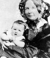 Elizabeth Cady Stanton & her child