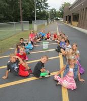 Mrs. Hackleman's 1st grade Class Releases a Butterfly!