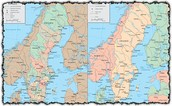 Sweden geography map