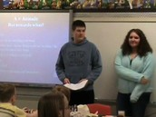 Students Demonstrate Knowledge