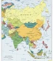 Map of China: World Map Version
