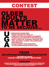 Older Adults Matter Photo Contest!