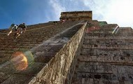 this is how high chichan itza is