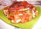 Vegan Diet BBQ Tofu & Veggies (Peppers, Onions, Tomatoes, & Mushrooms)
