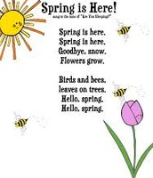 SPRING IS HERE POEM