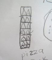 """Pizza rack"" by Jane"
