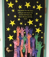 Our class contribution to the door decorating contest!