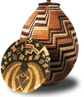 They are baskets made as art and culture.