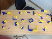 Mrs. Endicott's Class Use Hands-On Manipulatives