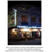 Movie theatre near the train station
