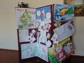 16-го декабря состоялся конкурс стенгазет и поздравительных открыток на Рождественскую тему.