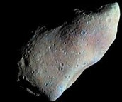 Asteroids- larger than meteoroids, 3 different types