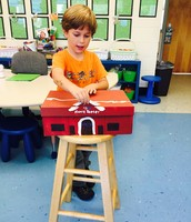 Oliver shared his very creative Harris Teeter model with us this week.