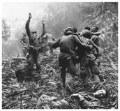 Casualties from Vietnamese guerrilla tactics