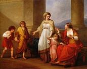 Cornelia, Mother of the Gracchi (1785)