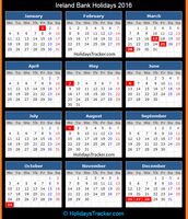 June, August, and October Bank Holidays