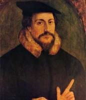 Painting of John Calvin (Younger)