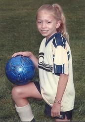 Todos los veranos yo jugaba el fútbol.