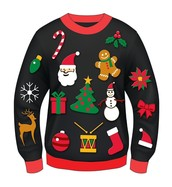 Ugly Christmas Sweater Day Contest