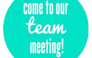 Team meetings!