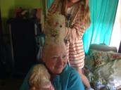 this one is  a picture of my great great aunt and my other onne