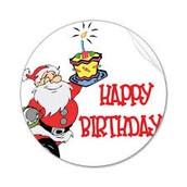HO HO Happy Birthday!