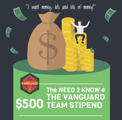 Vanguard $500 Stipend