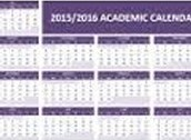 Remaining Calendar Dates 2015-16