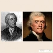 Comparisons between Locke's Treatise of Government and Jefferson's Declaratiion of Independence
