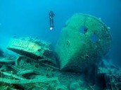 Exotic scuba diving