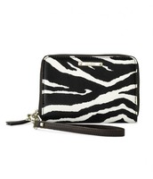 Chelsea Tech Wallet- Zebra