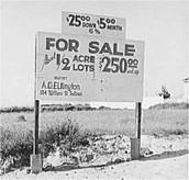 Price of land