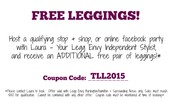 How can YOU get FREE leggings?