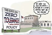 "Is the ""Zero Tolerance"" rule achieving it's goal of making school a safer environment?"