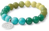 Little Girls Foundation Bracelet - Turquoise