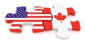 U.S & Canada Flags