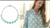 Somervell Necklace Aqua - $29 (Retail $59)