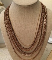 Rose Gold Necklace - Perfect Condition - Sale Price $35