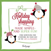 "Thirty One is the perfect ""no hassle"" shopping for everyone on your list!"