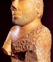 Preist King Statue