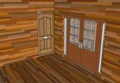 100% Wood House